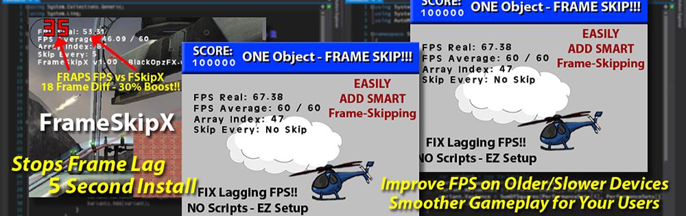 FrameSkipX - FIX Lagging GM:S FPS